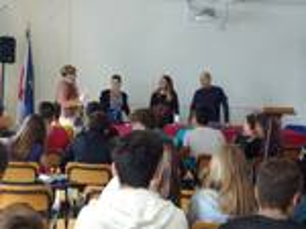 incontro con gli studenti Marconi