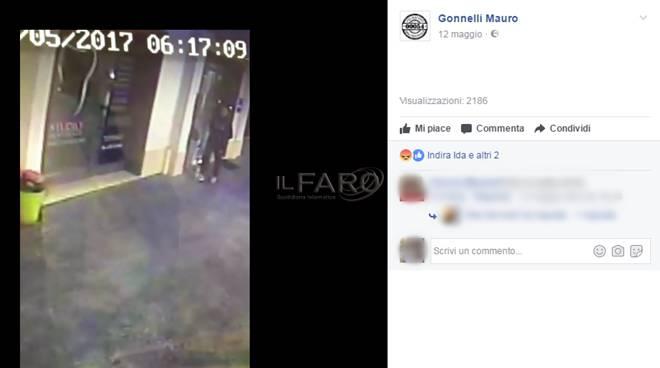 ladri denuncia video gonnelli