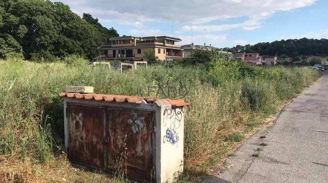 spazi verdi abbandonati aranova