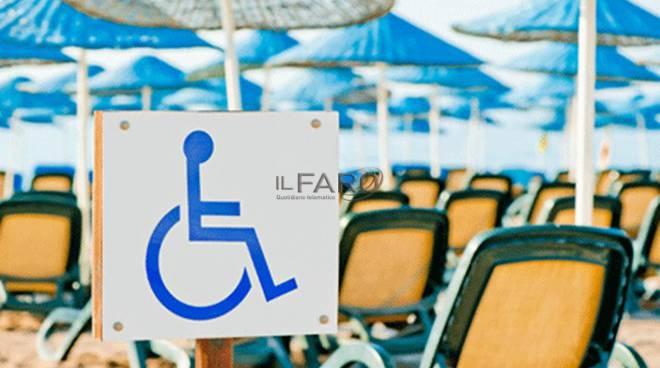 spiaggia disabili La Maddoninna a Focene