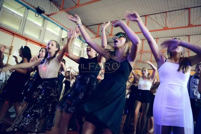 Ballo di fine anno 2017, Terze medie scuola Sangallo di Ostia