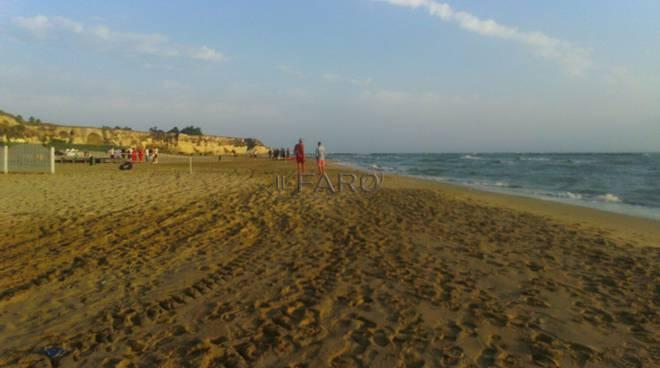 giovane scomparso in mare ad Anzio