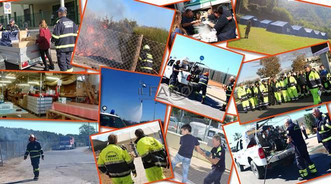 protezione civile fregene
