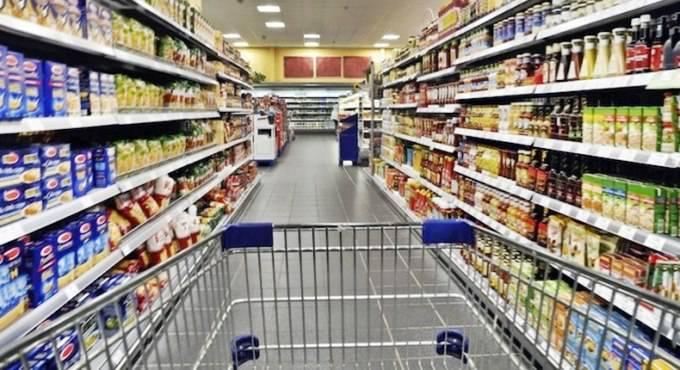 scaffali supermercato