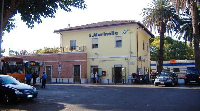 stazione di santa marinella