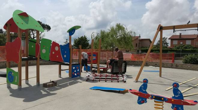Tor San Lorenzo, quasi conclusi i lavori del primo parco inclusivo di Ardea