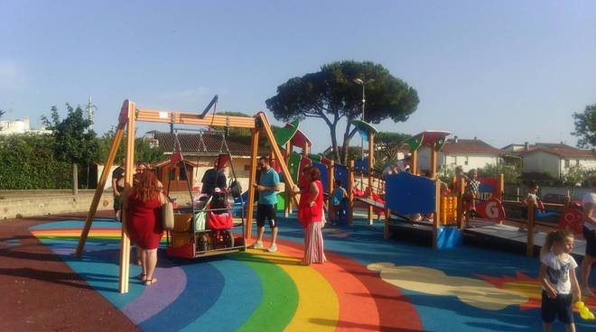 Ardea, inaugurato il primo parco pubblico per diversamente abili