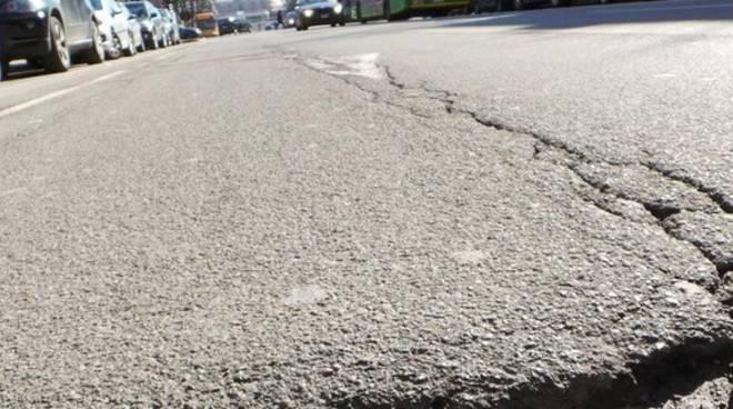 asfalto disconnesso