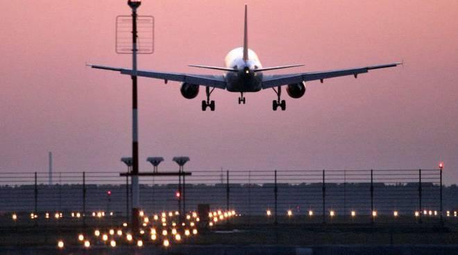atteraggio aereo