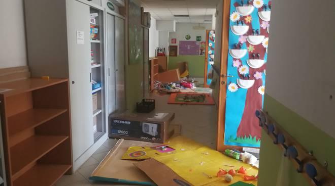 atti vandalici scuola