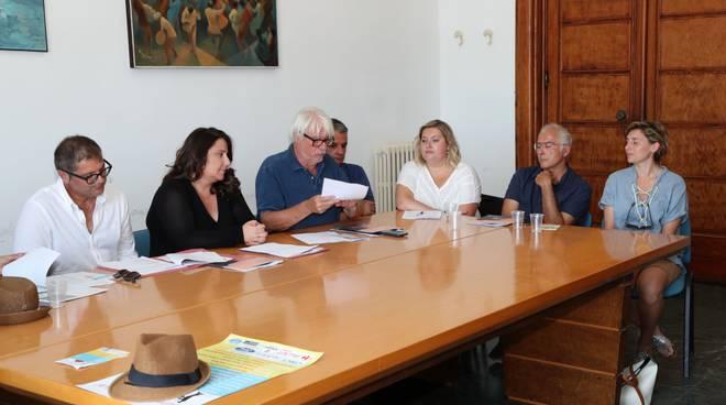 conferenza stampa sabaudia