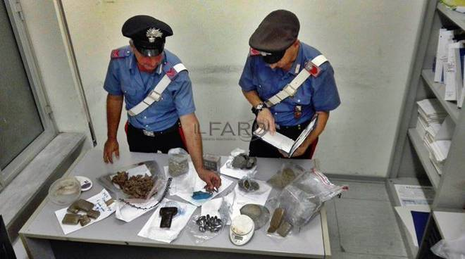 droga, carabinieri pomezia