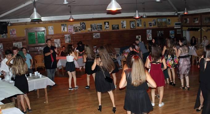 Gran ballo delle Terze medie, fine anno, scuola Macinghi Strozzi