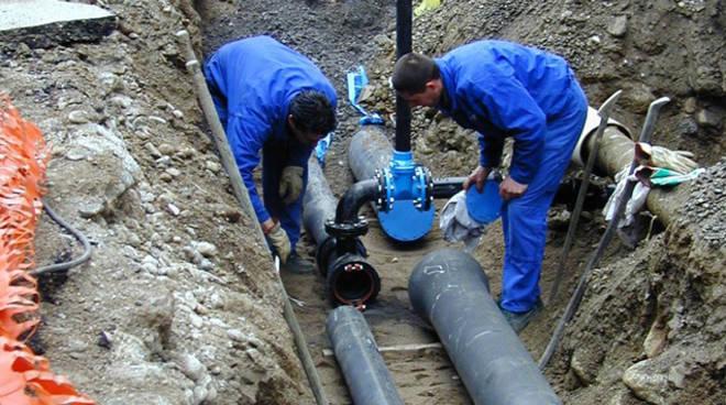 lavori condotta idrica