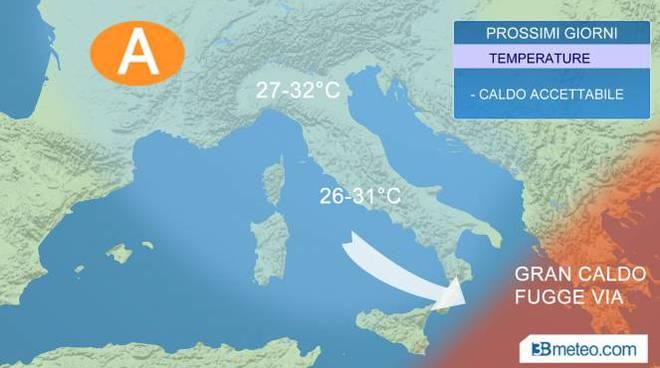 Meteo Italia. Nel weekend ancora qualche temporale pomeridiano, inizio settimana più stabile
