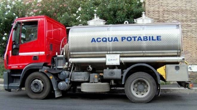 autobotte acqua potabile