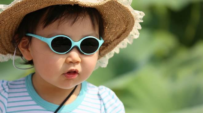 Bambini e caldo estremo: come proteggerli