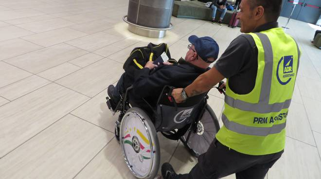disabilità aeroporto
