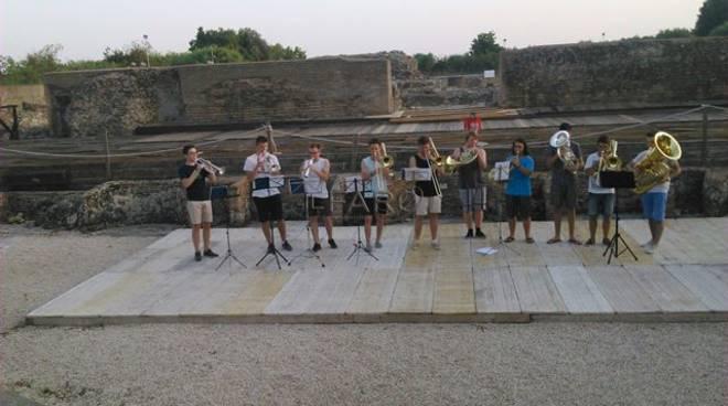 L'european orchestra a minturno