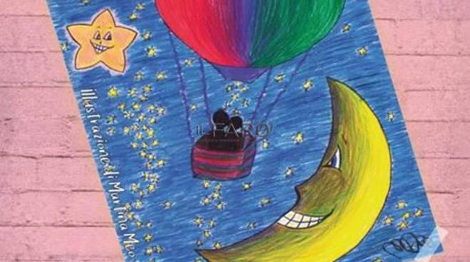 la mongolfiera sopra la luna
