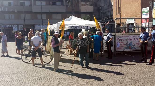 manifestazione anti biogas