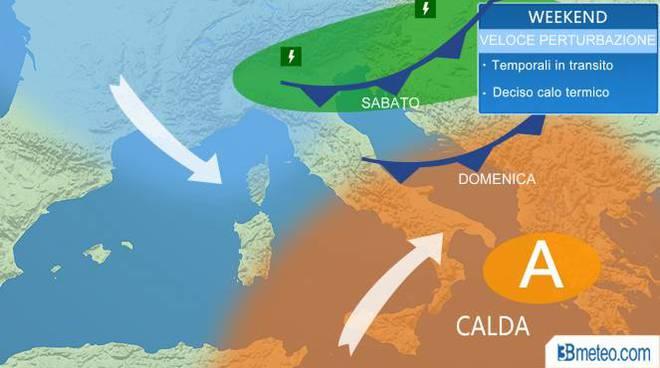 Meteo Monza e Brianza: rischio temporali forti in serata
