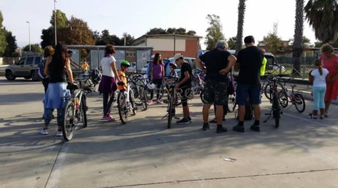 biciclettata torre perla di palidoro