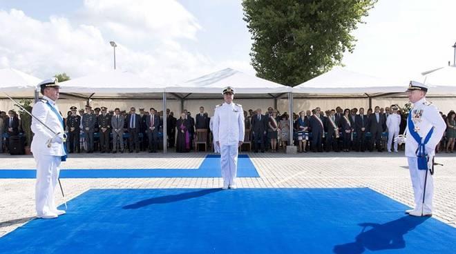cambio comando alla capitaneria di porto di roma guardia costiera