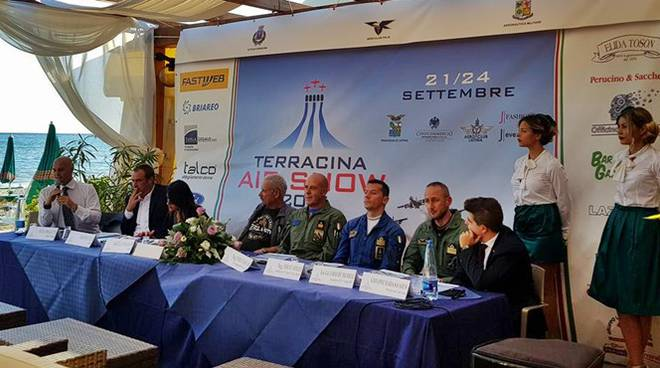 conferenza stampa air show 2017