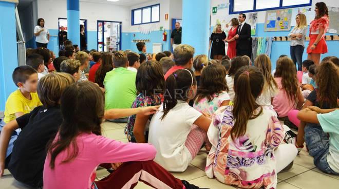 sindaco Fucci a scuola