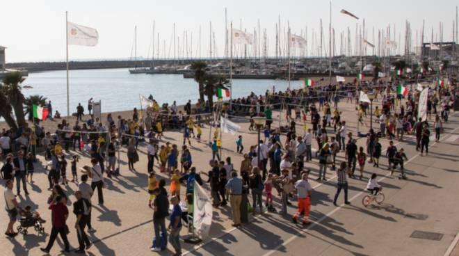 ostia porto turistico evento mafia bambini