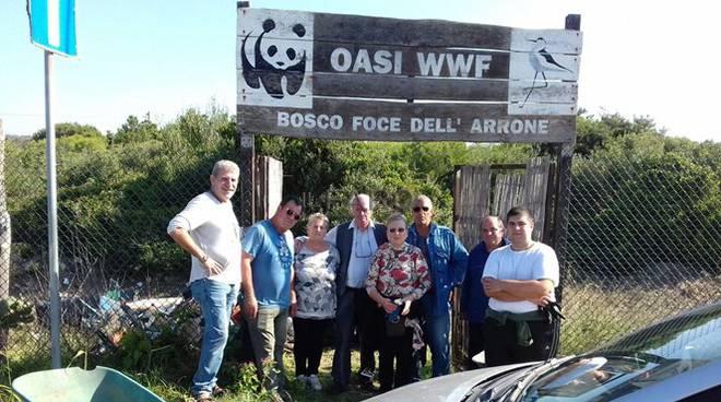 pulizia oasi wwf
