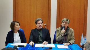 confronto Picca - Di Pillo all'Anffas di Ostia