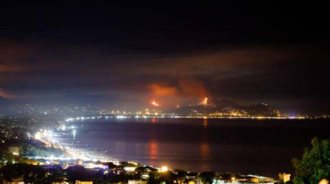 incendi terracina