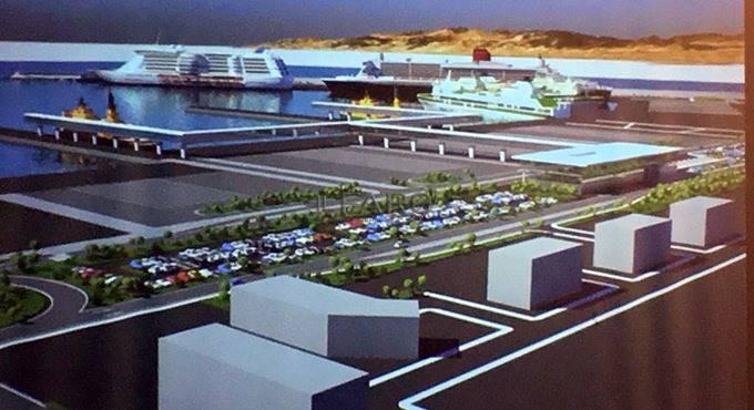 presentazione porto commerciale