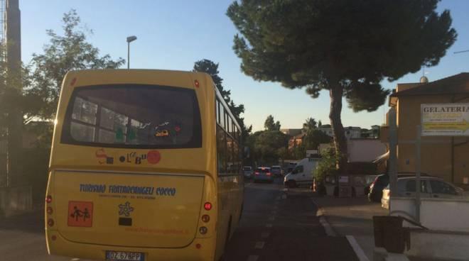 trasporto scolastico fiumicino