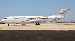 Tus Airways volo fiumicino cipro