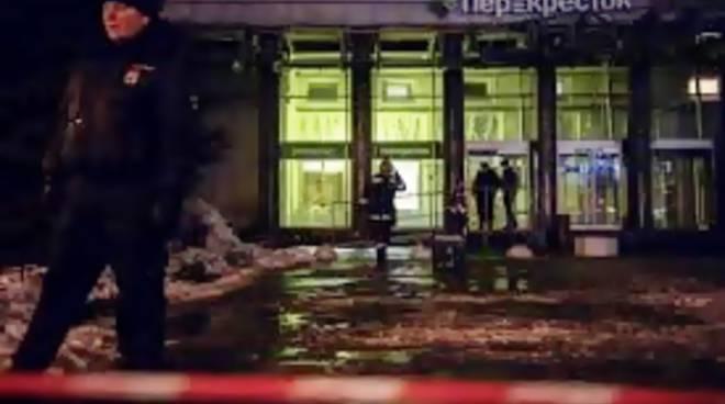 Russia. San Pietroburgo, bomba in un supermercato nascosta in un armadietto