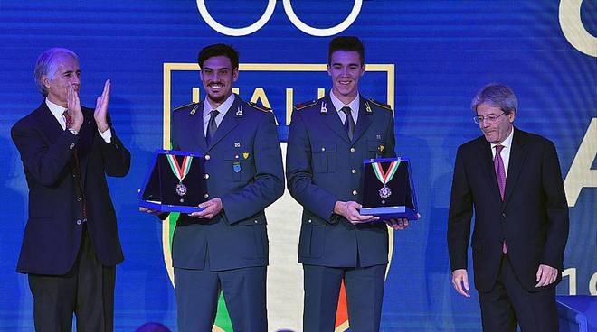 Collari d'oro 2017: premiati tre atleti campani