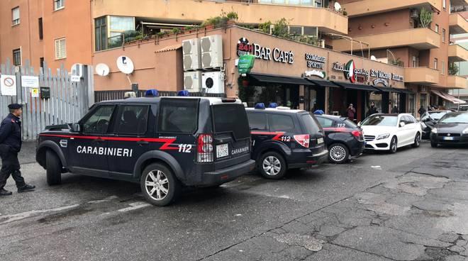 ostia controllo carabinieri centro scommesse