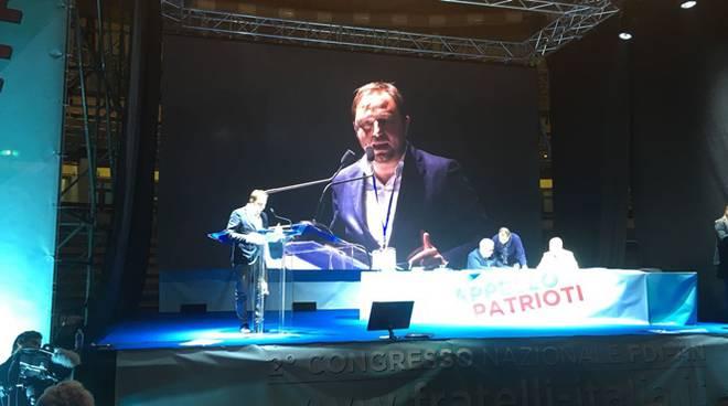 Marco Valerio Verni all'assemblea nazionale Fratelli d'Italia