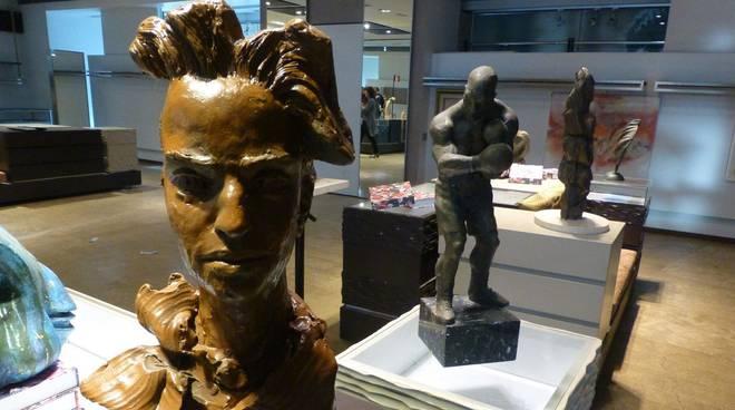 """mostra """"Grande Arte a parco Leonardo"""" Fiumicino per eventi natalizi"""