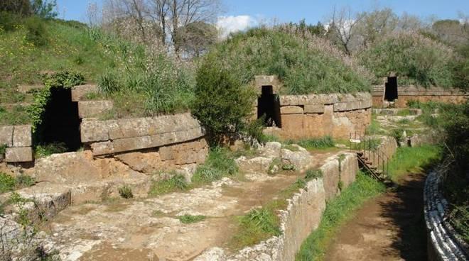 Necropoli etrusca cerveteri patrimonio Unesco