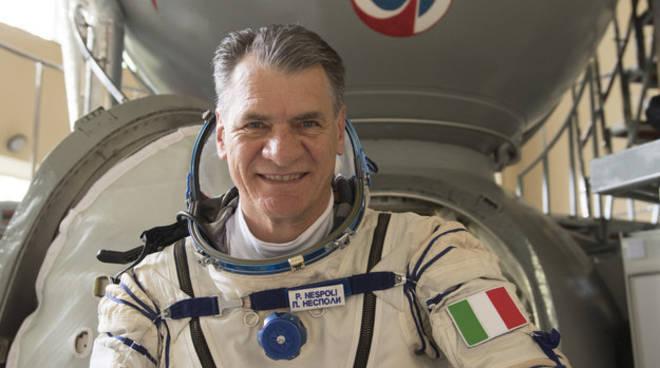 Paolo Nespoli astronauta esa