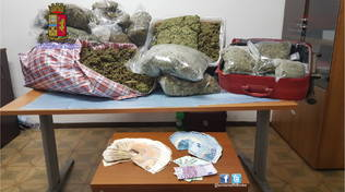 roma sequestrati 30 chili marijuana zona boccea