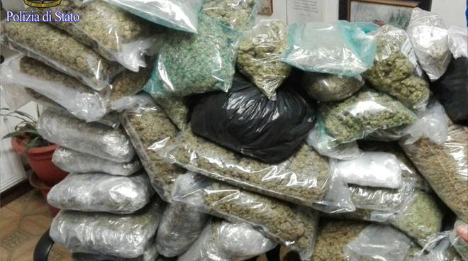 roma sequestrati 30 chili marijuana zona boccea