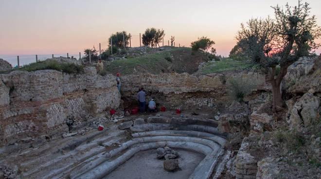 Scavi archeologici città Aquae Tauri