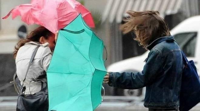 Allerta meteo vento di burrasca