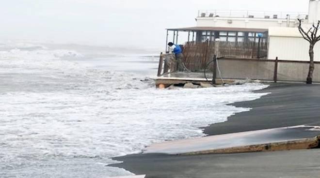 Erosione delle coste - Fiumicino riunione consiliare