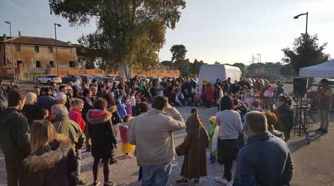 Fiumicino carnevale a Palidoro festa Granaretto